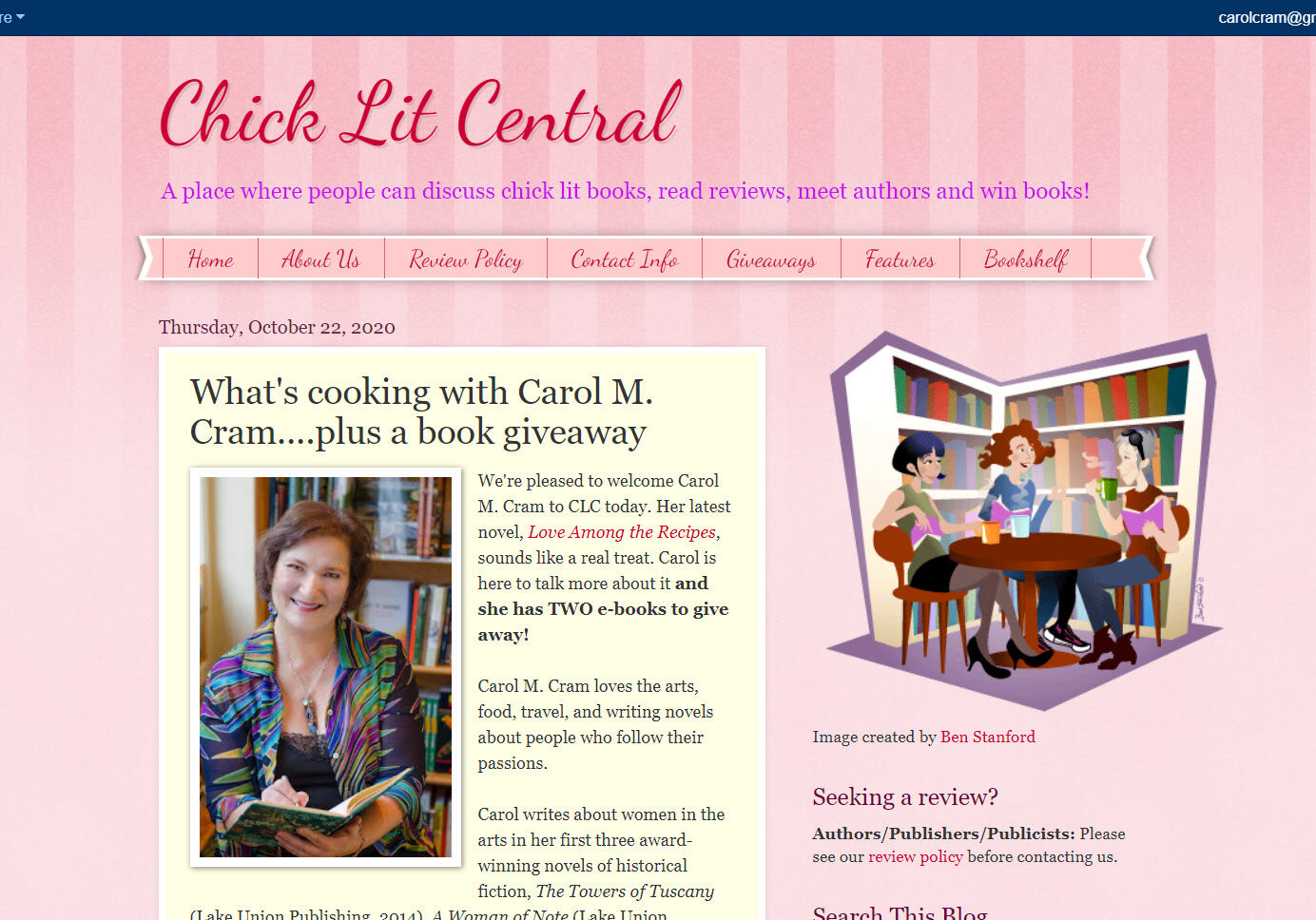 Interview with ChickLit Central